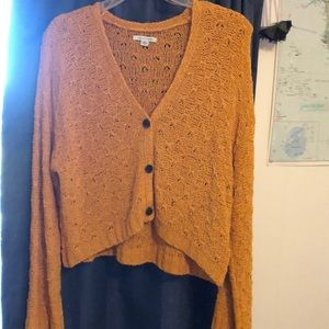 American Eagle cropped cardigan